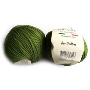 Lux Cotton Tmavě Zelená