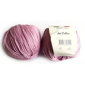 Lux Cotton Fialovorůžová