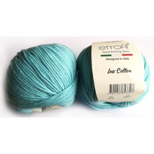 Lux Cotton Tyrkys
