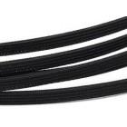 Obetkaná kostice 7mm Černá