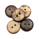 Kokosový Knoflík 15mm