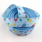 Rypsová stuha 25mm Lízátka Modrá