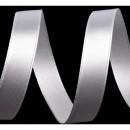 Saténová Stuha 25 mm Bílá