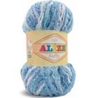 Příze Alize Softy Modrý melír