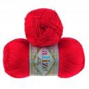 Příze Alize Diva (Baby) Červená