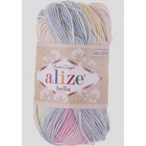 Příze Alize Bella Batik Pastelový Melír