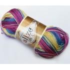 Příze Alize Diva batik Fuchsiový melír