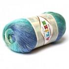 Příze Alize Bamboo Fine Batik Modrý melír