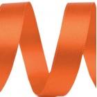 Atlasová Stuha 9 mm Oranžová