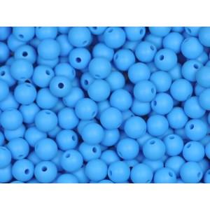 Silikonový Korálek Azurová 10 mm