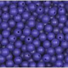 Silikonový Korálek Modrá 12 mm