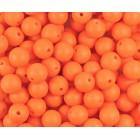 Silikonový Korálek Oranžová 12 mm