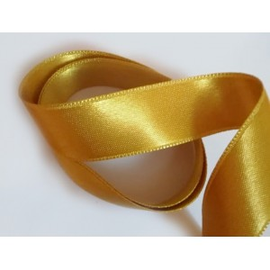 Saténová Stuha 20 mm Zlatá