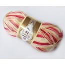 Příze Alize Diva batik Vanilkovo-růžový melír