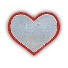 Reflexní Srdce /textilní