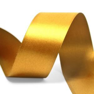 Atlasová Stuha 18mm Zlatá