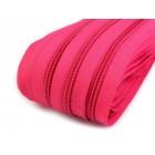 Zip Metráž 5 mm Růžová BX