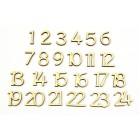 Číslice - adventní sada