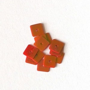 Flitry Čtverečky Oranžové