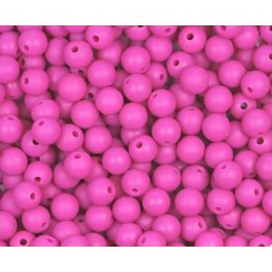 Silikonový Korálek Tm. Růžový 10 mm