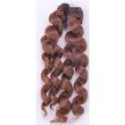 Kudrnaté vlasy na panenky Hnědá