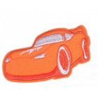 Nažehlovací Aplikace Auto Oranžové /textilní/