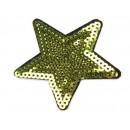 Nažehlovací Aplikace Hvězda Zelenkavá