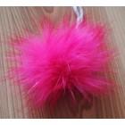Malá Bambule Neon Růžová 6 - 8 cm