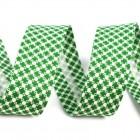 Šikmý proužek Zelený