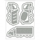 Reflexní Nákladní auta /fólie/