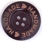 Velký Knoflíky Handmade 4 cm