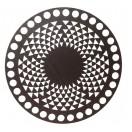 Dřevěné Víko na Košík Wenge  Triangl 15 cm