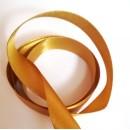 Atlasová Stuha 15 mm Zlatá