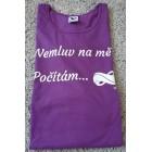 Tričko Pure - fialová XL