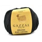 Organic Baby Cotton Černá