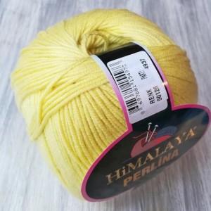Příze Perlina Žlutá - Vanilková