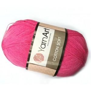 Příze Cotton soft Malinová