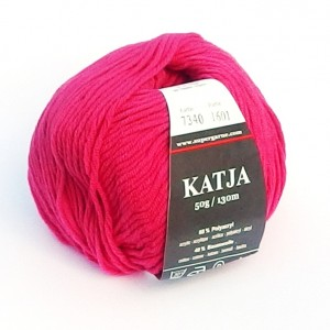 Příze Katja Neon Růžová