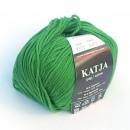 Příze Katja Zelená Sytá