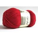 Příze Cotton soft Červená