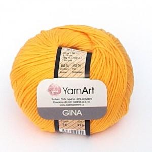 Příze Jeans / Gina Žlutá
