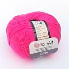 Příze Jeans / Gina Neon Růžová